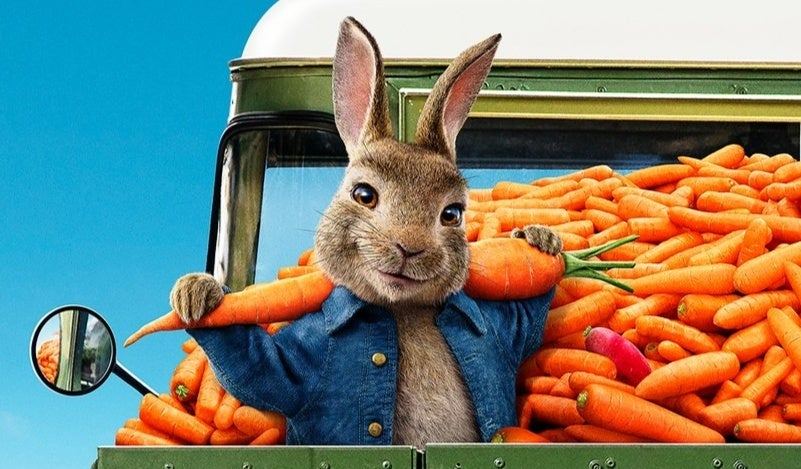 peter rabbit 2 the runaway poster