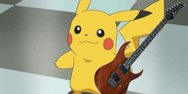 Pokemon Fans Can Rock Out on This New Pikachu Guitar