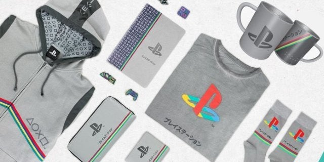 PlayStation 25th Anniversary Collection Includes a Hoodie, Wallets, Mugs and More