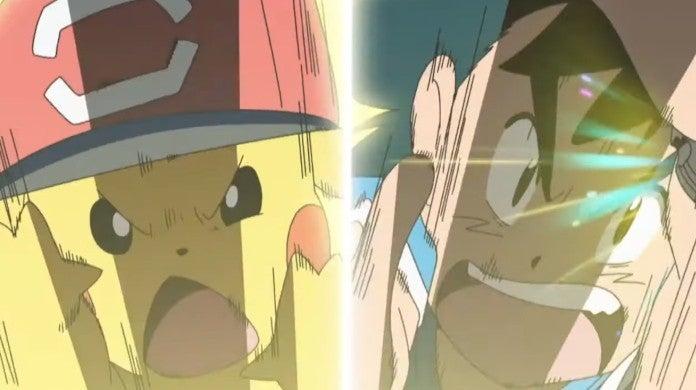 Pokemon Sun Moon Anime Episode 144 Ash Pikachu
