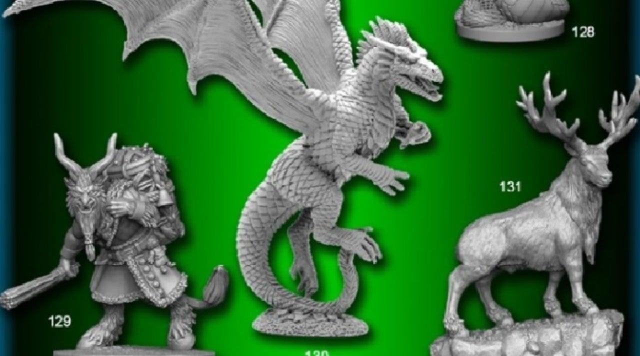 Reaper's New Kickstarter Offers Dozens of Miniatures for Your Dungeons & Dragons Needs