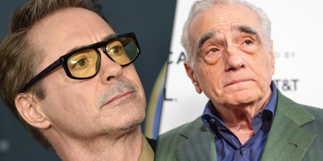 robert downey jr martin scorsese