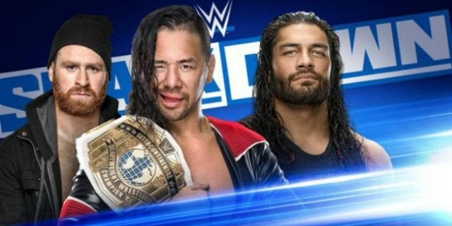 Roman Reigns vs Shinsuke Nakamura Intercontinental Championship Match Booked for WWE SmackDown