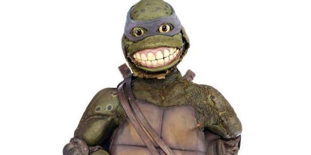 Rotting Teenage Mutant Ninja Turtles Leonardo Suit Fails To Sell At Auction