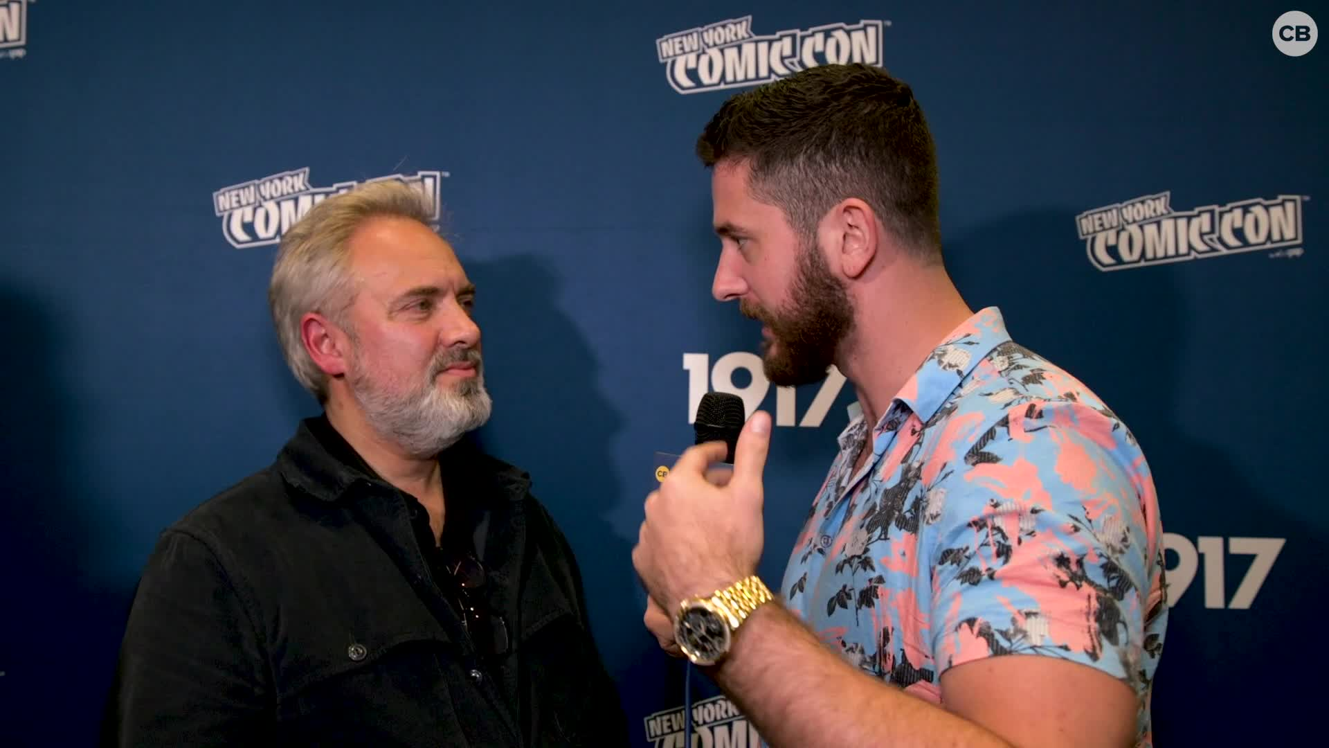 Sam Mendes - NYCC 2019 Exclusive Interview screen capture
