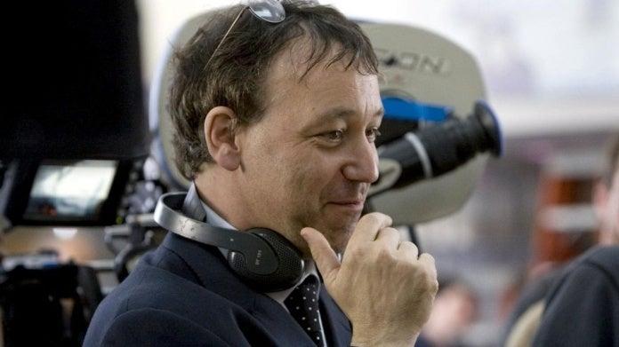 Sam Raimi directing