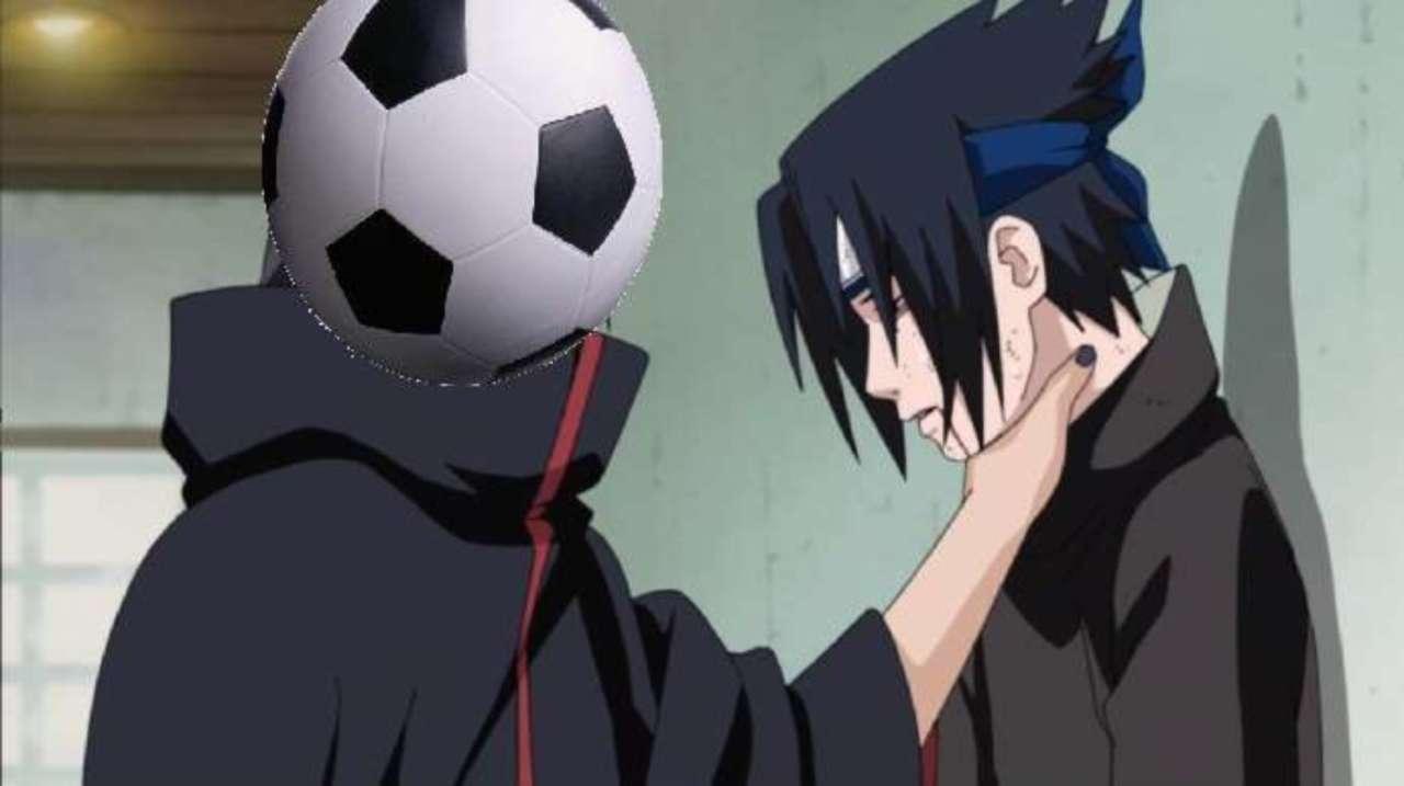 Hilarious Post Reveals Sasuke's Secret Soccer Double-Life