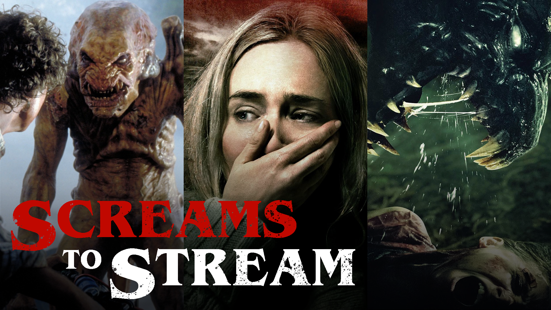 Screams to Stream - Creature Feature Horror Movies screen capture