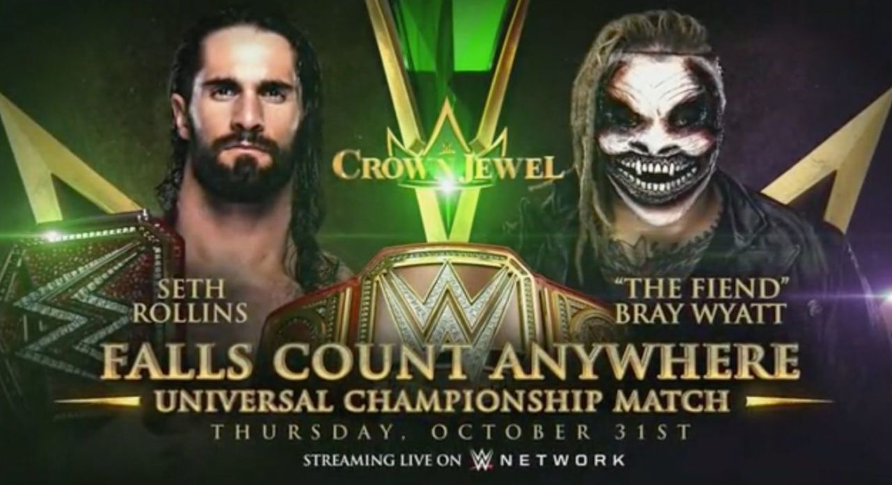Seth Rollins vs. Bray Wyatt Universal Championship Rematch Booked for Crown Jewel