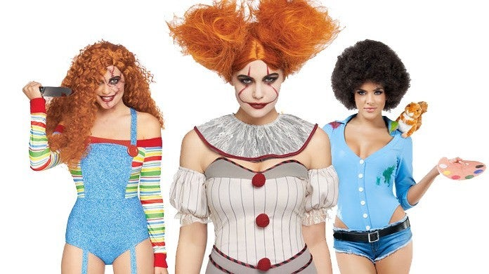 sexy halloween costumes it bob ross chucky