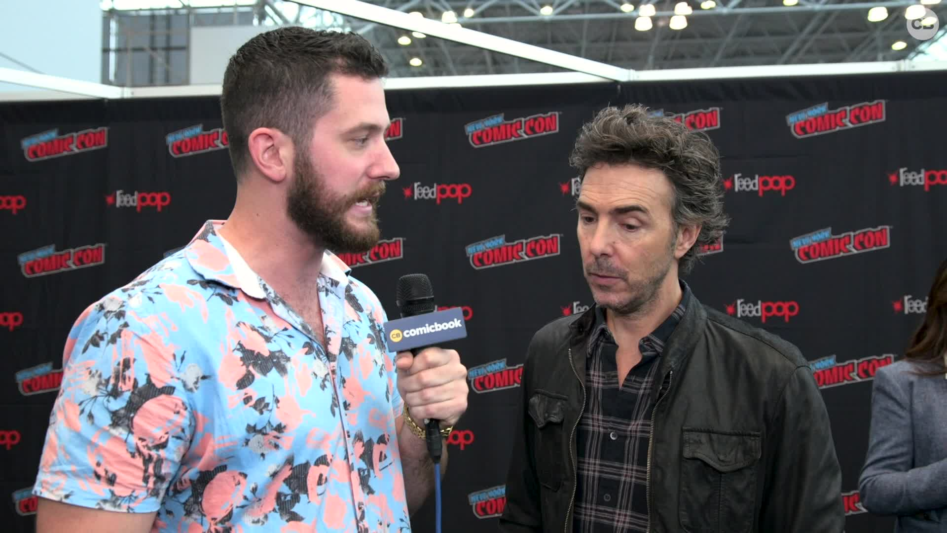 Shawn Levy - NYCC 2019 Exclusive Interview screen capture