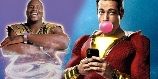 Shazam Director Jokes About His Film Being a Remake of the Shaq Genie Movie