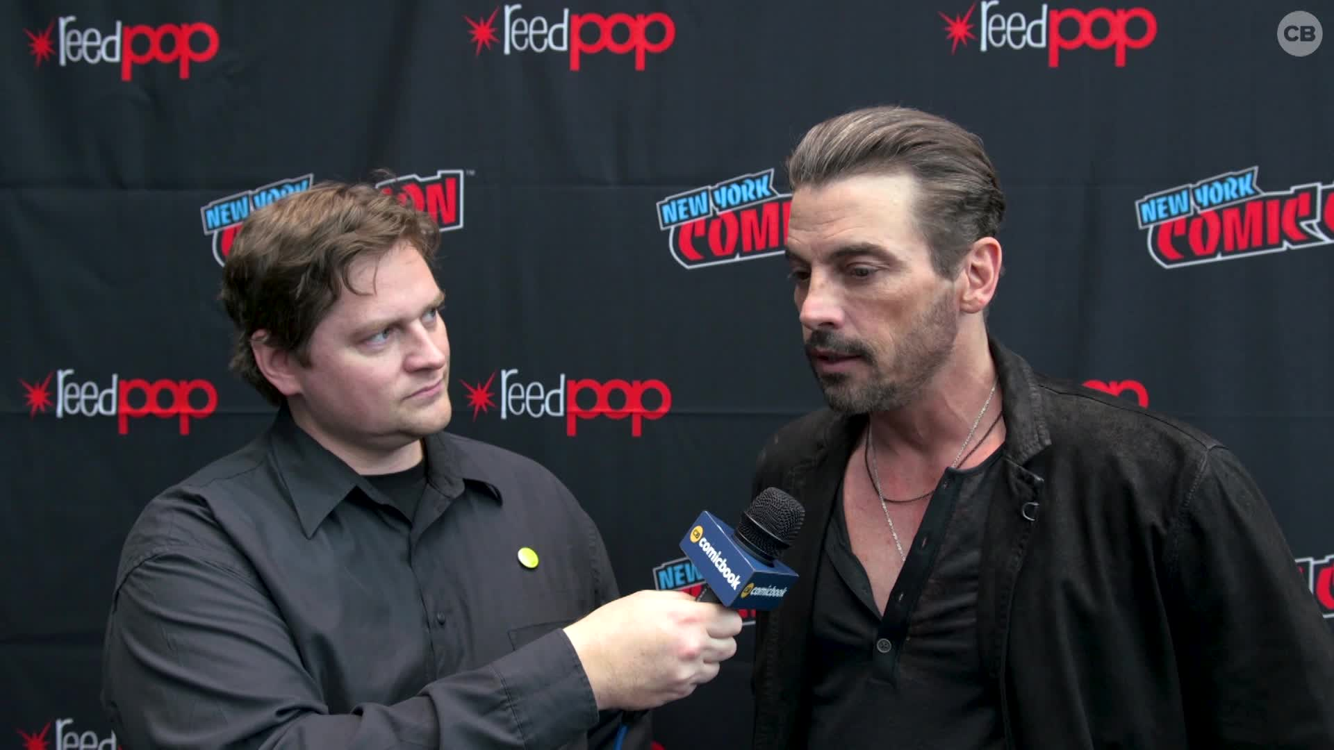 Skeet Ulrich - NYCC 2019 Exclusive Interview screen capture
