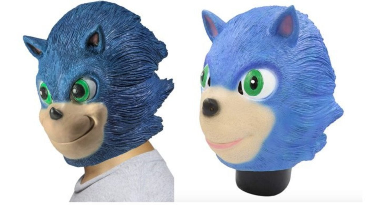 Terrifying Sonic The Hedgehog Masks Are On Sale For Halloween