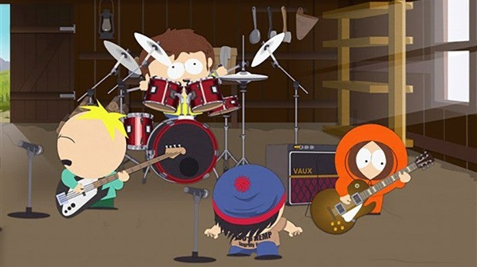 south park band in china