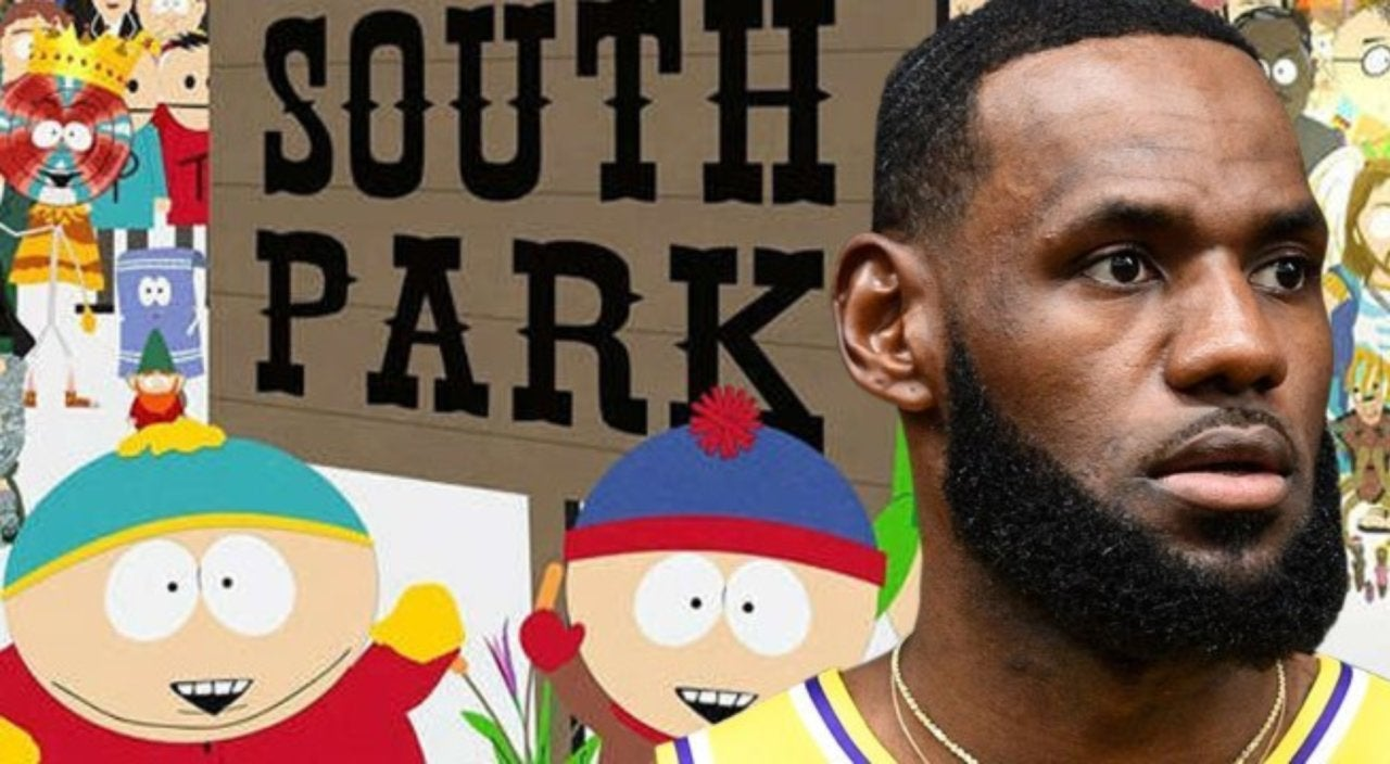 South Park Makes Fun of LeBron James Over China