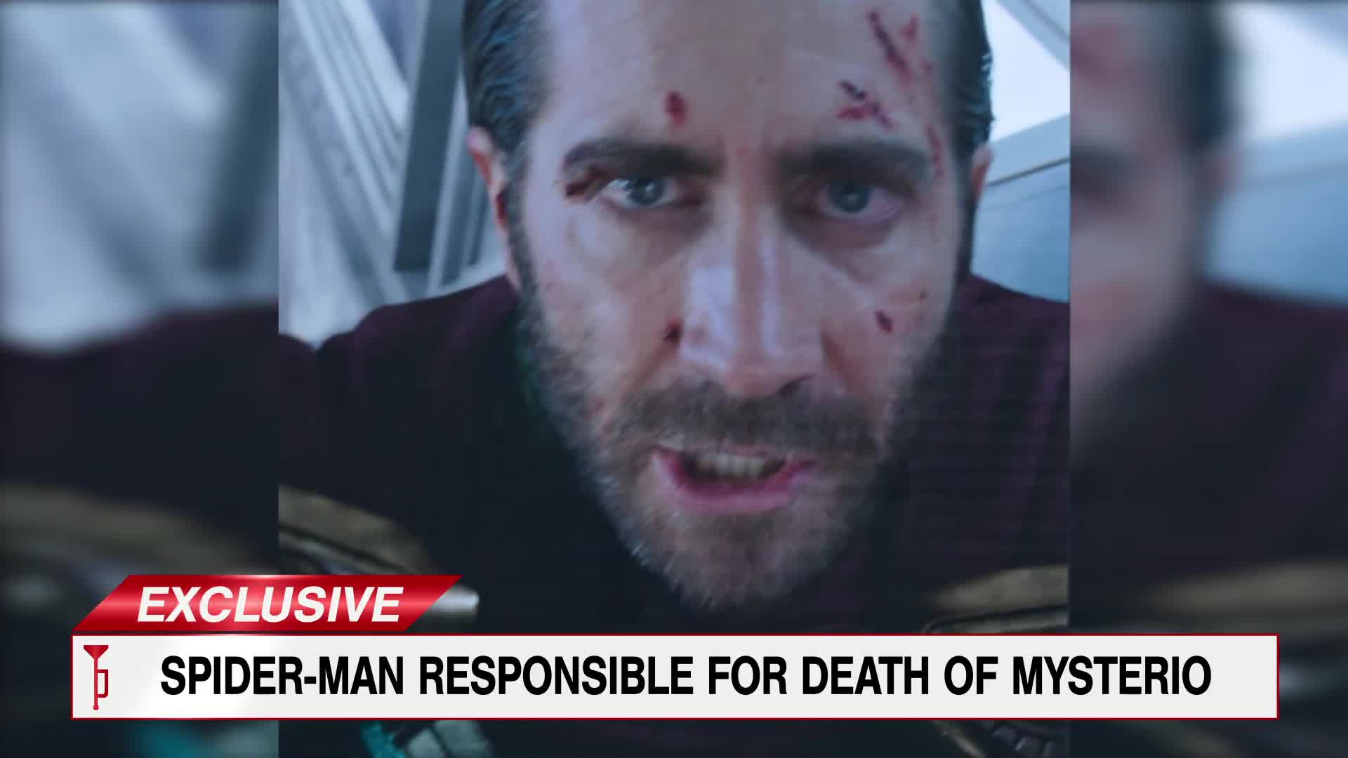 Spider-Man: Far From Home - TheDailyBugle.net: Mysterio Final Moments [HD] screen capture