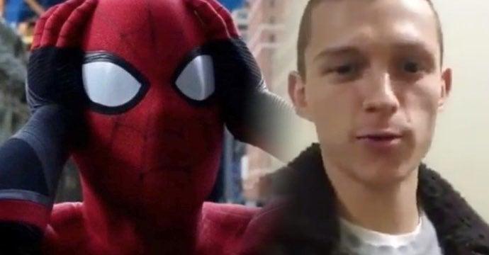 spider-man tom holland hair