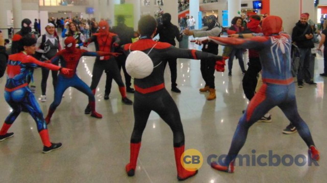 This NYCC Cosplay Took the Spider-Man Pointing Meme To A ...