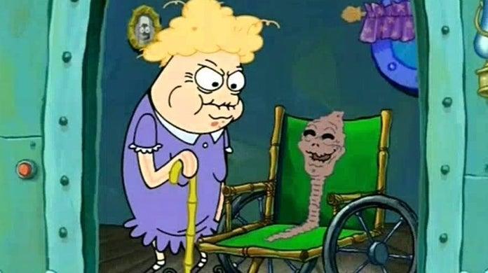 spongebob chocolates