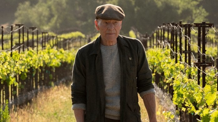 Star Trek Picard Patrick Stewart Vineyard