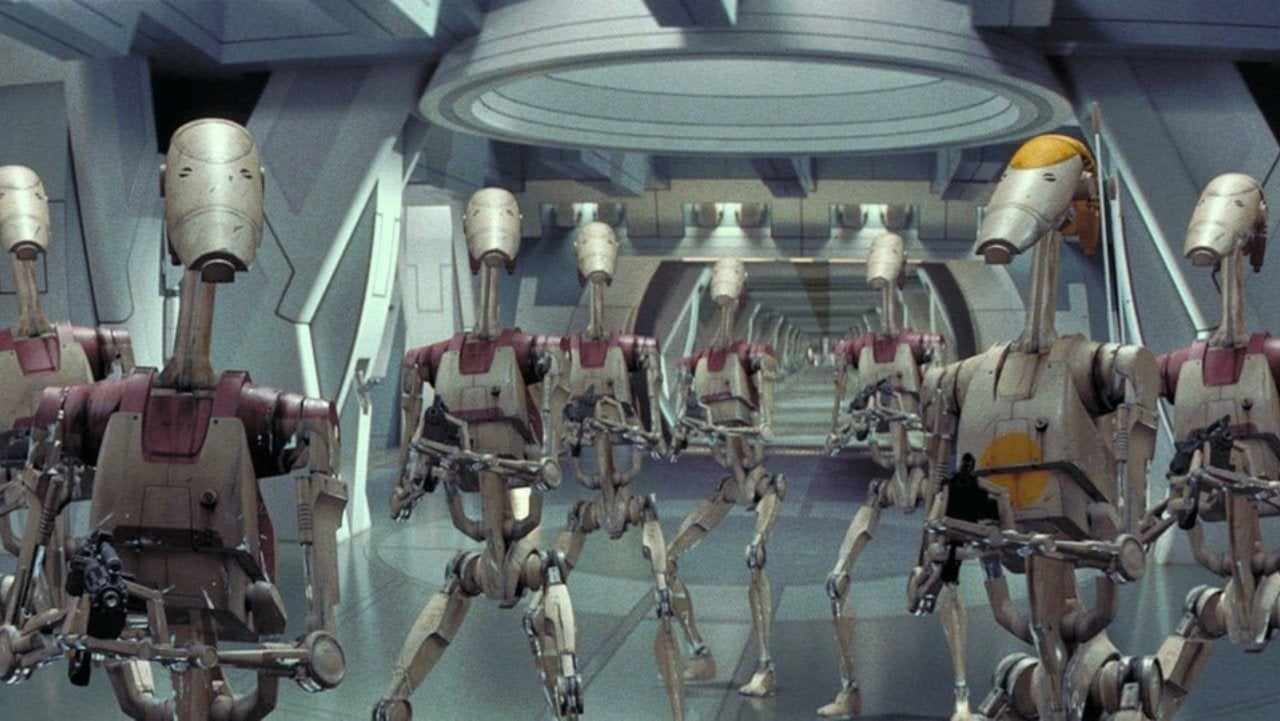Battle Droid Spotted in New Star Wars: The Rise of Skywalker Trailer