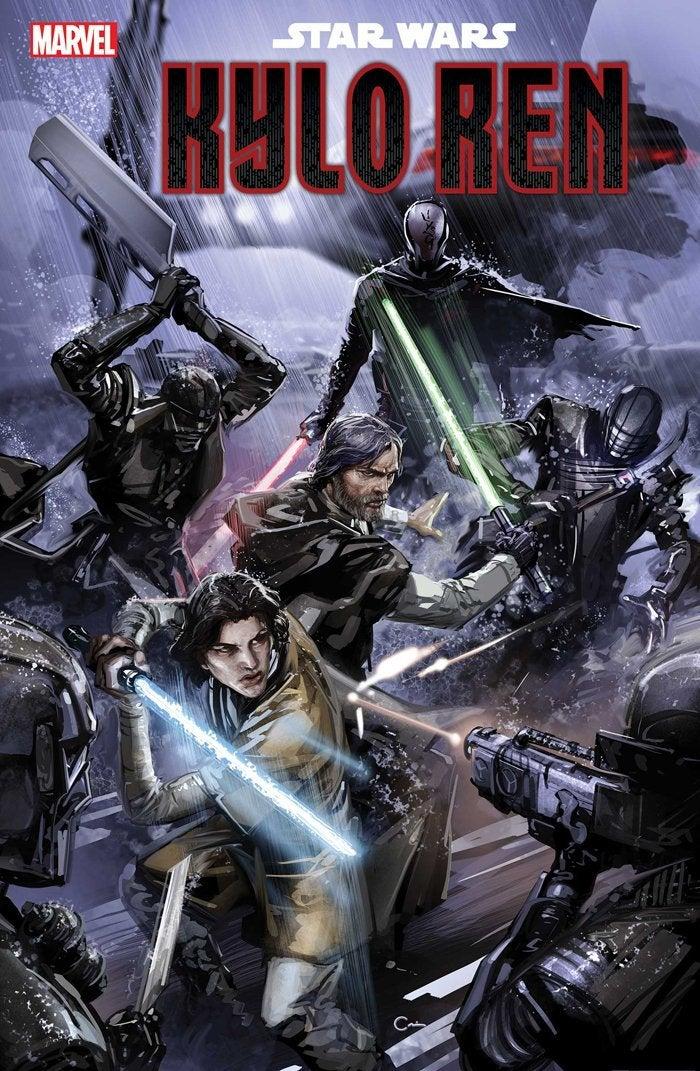 star wars kylo ren cover knights luke skywalker