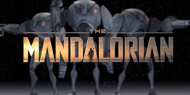Star Wars The Mandalorian B2 Super Battle Droids Cameo Clone Wars Flashback