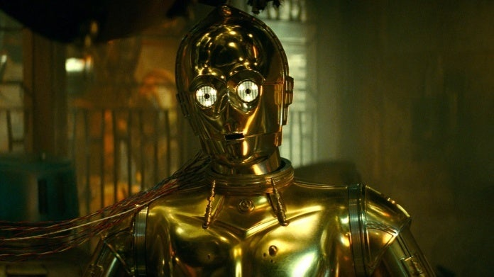 Star Wars The Rise o Skywalker C-3PO Anthony Daniels
