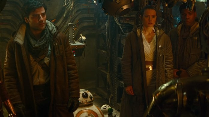 star wars the rise of skywalker group