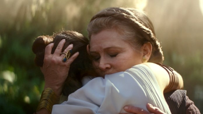 Star Wars The Rise of Skywalker LEia Carrie Fisher