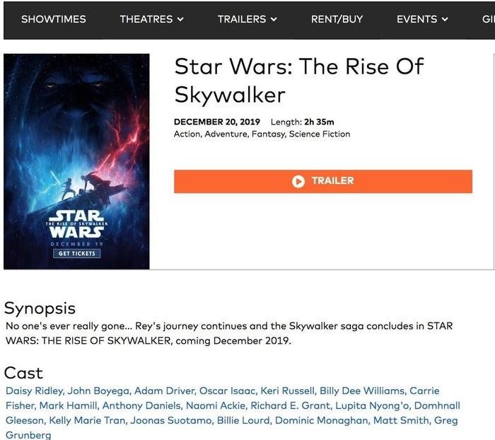 star wars the rise of skywalker matt smith