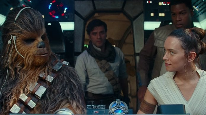 star wars the rise of skywalker millennium falcon