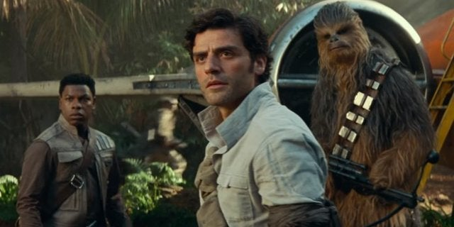 Star Wars: Poe Dameron's Goodbye to Leia in The Rise of Skywalker Was Oscar Isaac's Idea