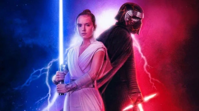Star Wars The Rise of Skywalker Rey Kylo Ren