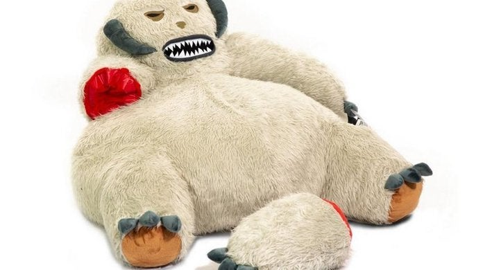 Star-Wars-Wampa-Bean-Bag-Chair-top