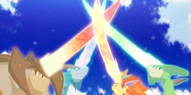 Pokemon Go Teases the Swords of Justice Trio in Cryptic Tweet