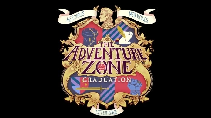 the adventure zone graduation cropped hed