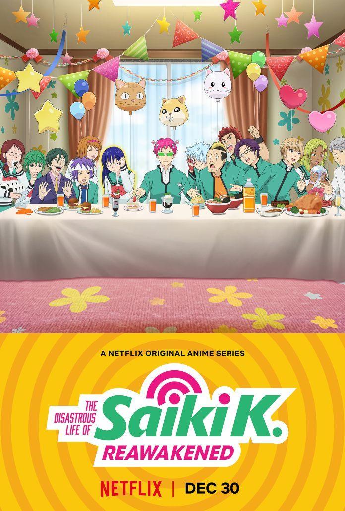 The Disastrous Life of Saiki K Reawakened Netflix