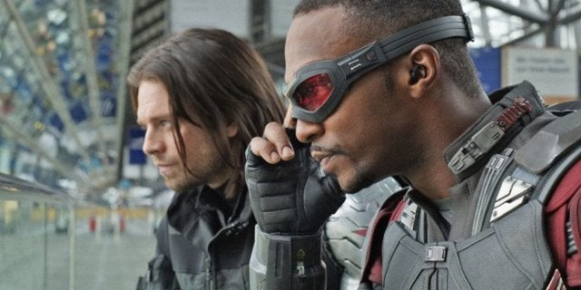 Anthony Mackie Shares First Photo From The Falcon and the Winter Soldier Set