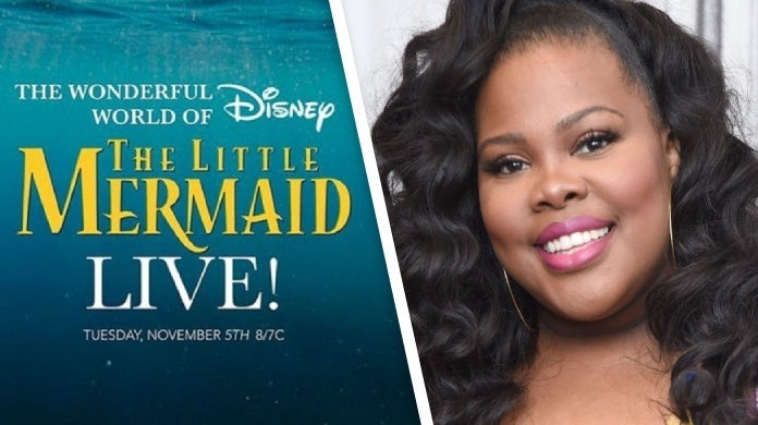 the little mermaid live amber riley