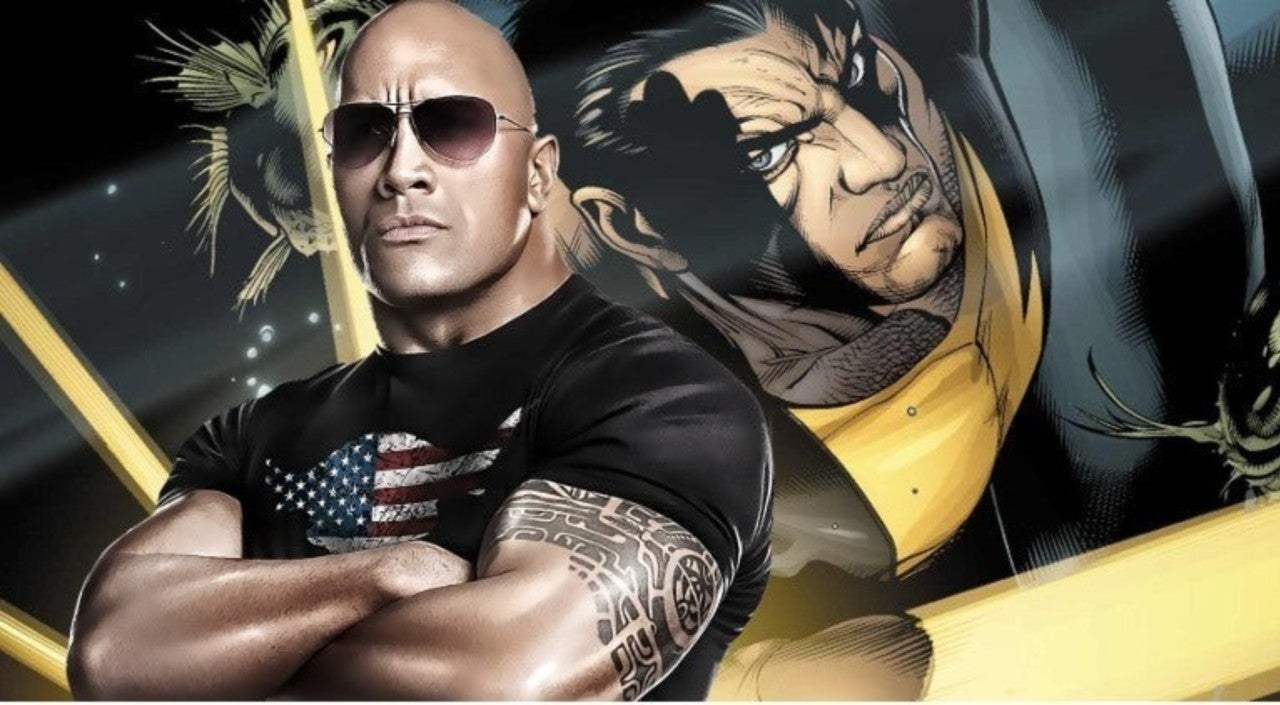 The Rock Announces Black Adam Production Start Date