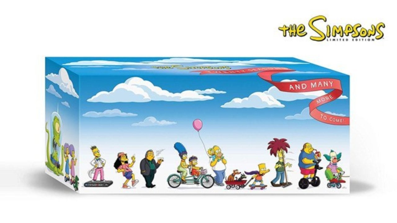 The Simpsons Seasons 1 20 Dvd Box Set Is A Super Limited Edition