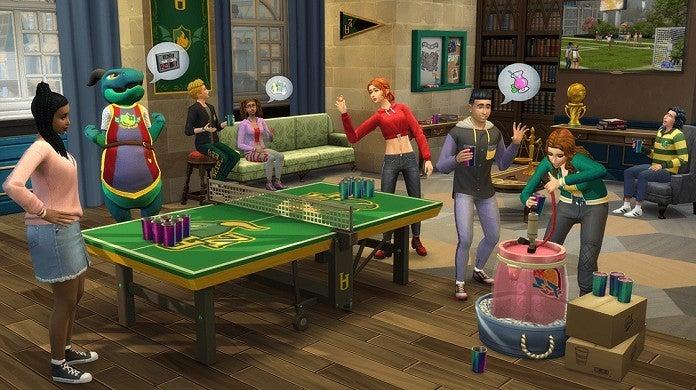 The Sims 4 University