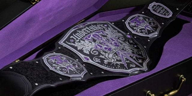 Photos: WWE Announces Undertaker Legacy Championship Belt