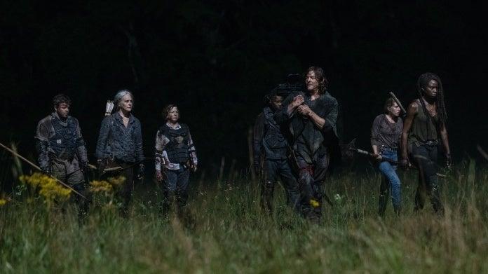 The Walking Dead 1003 Ghosts Carol Daryl Michonne