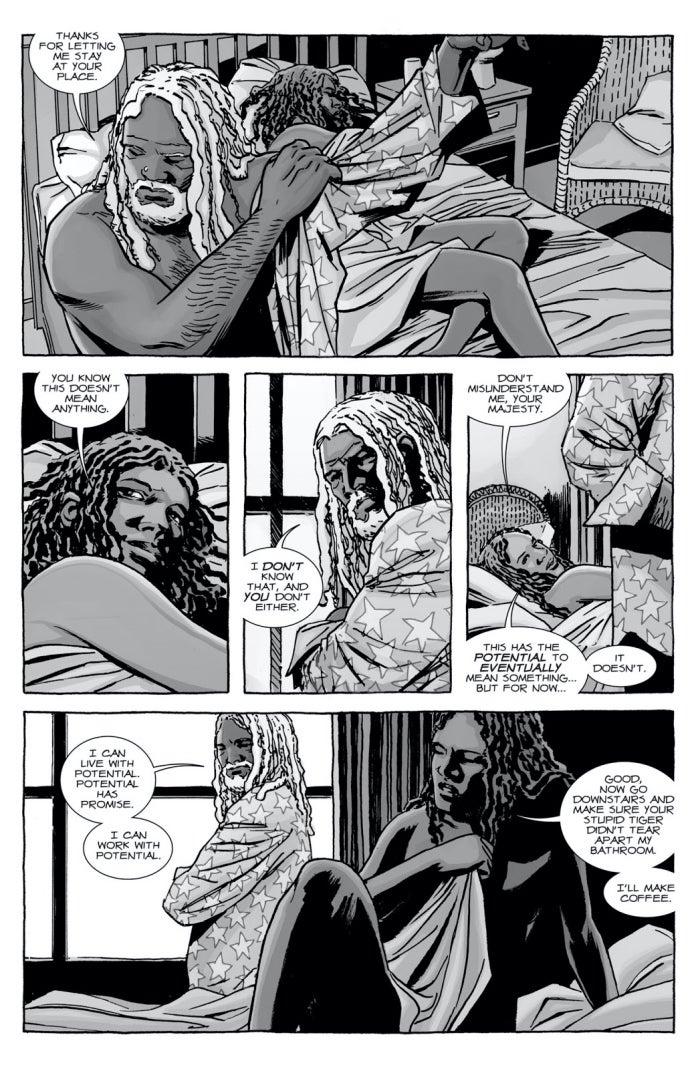 The Walking Dead 115 Michonne Ezekiel