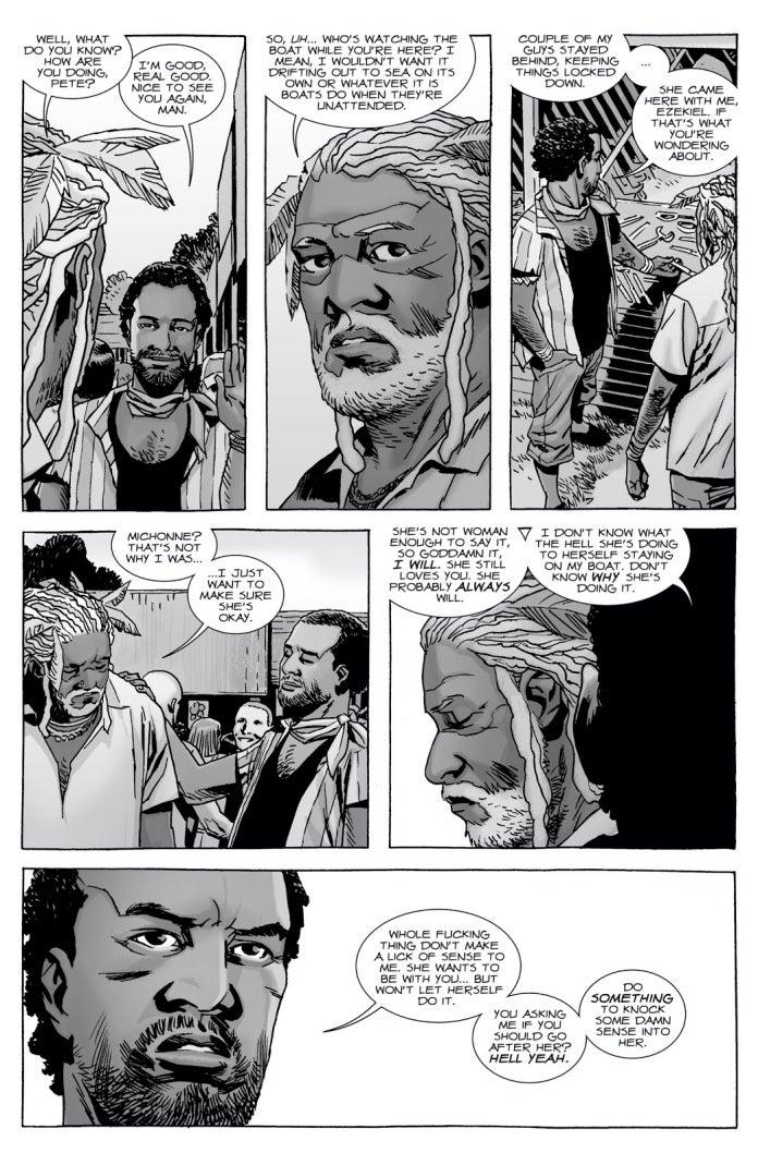 The Walking Dead 143 Ezekiel