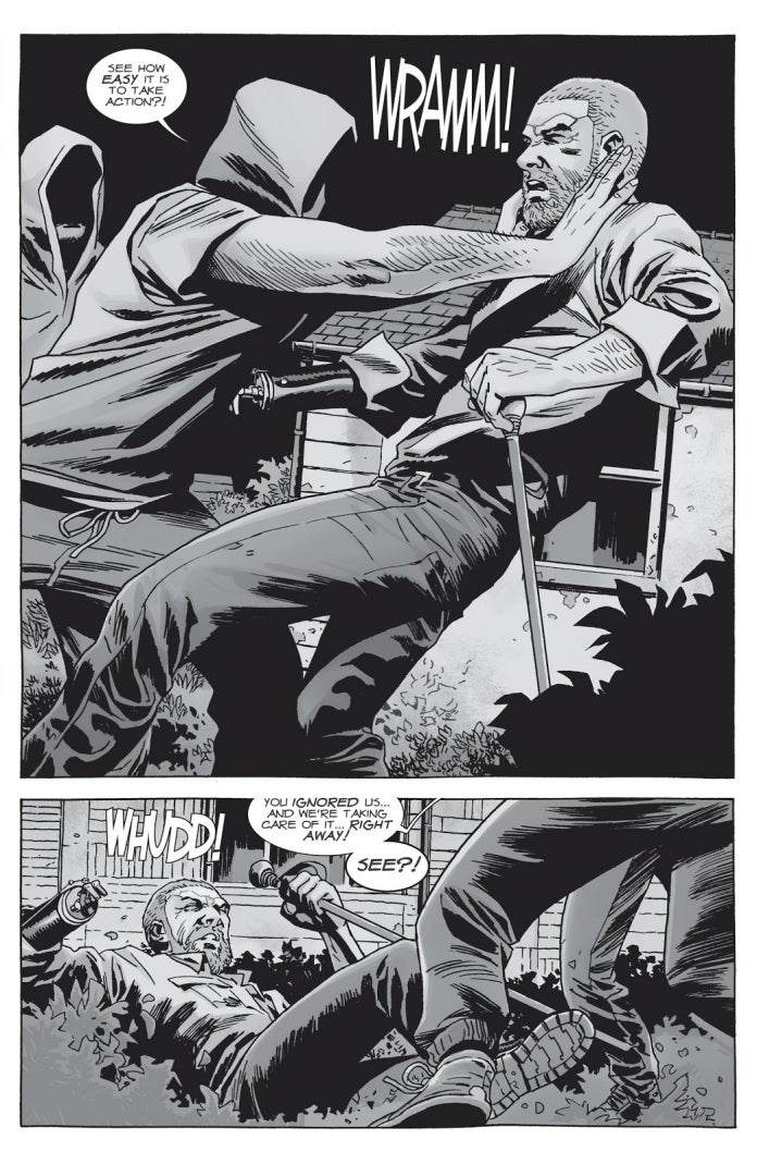 The Walking Dead 150 Rick Morton