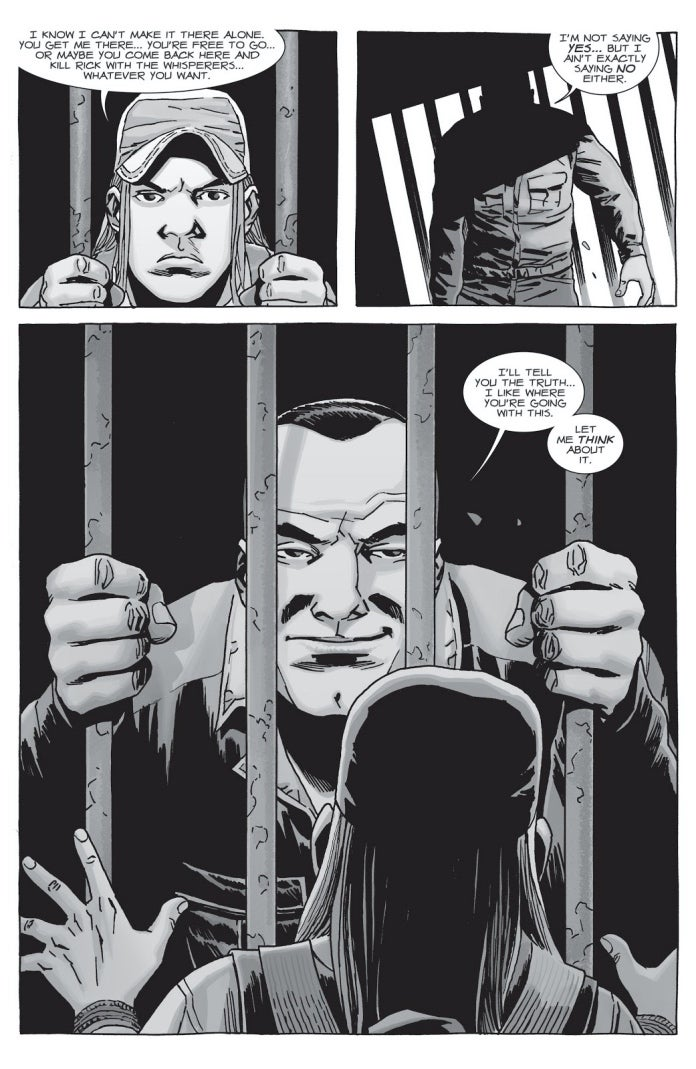 The Walking Dead 152 Negan Brandon